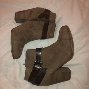 Taupe Booties | Size 7